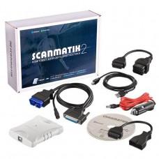 Диагностический мультимарочный сканер Сканматик 2, стандартный комплект ВАЗ/ГАЗ