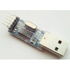 Кабель ГБО. USB-COM RS232 PL2303 адаптер переходник 4 pin для диагностики газа.
