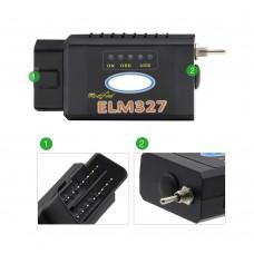 Сканер ELM327 Bluetooth для Ford, Mazda (HS — MS)
