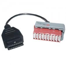 Переходник 30 pin Peugeot / Citroen на OBD-II для Lexia и Autocom